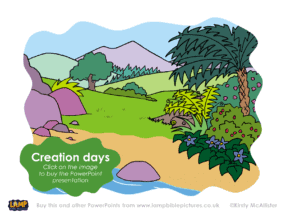 A Bible story PowerPoint presentation about the creation days