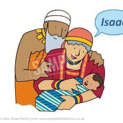 Isaac is born.