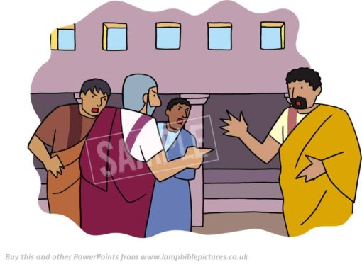 Arguing in the synagogue