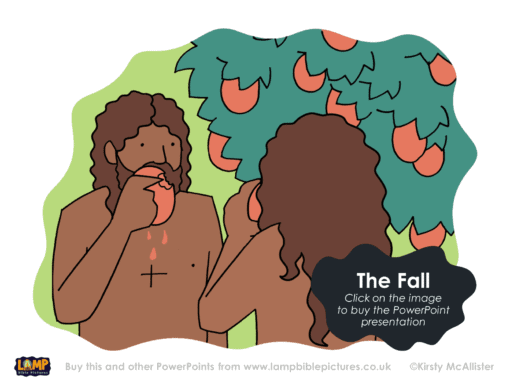 A Bible story PowerPoint presentation about the Fall