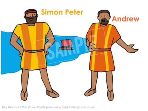 Simon Peter & Andrew