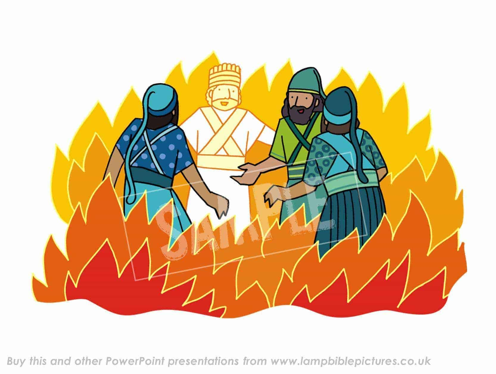 Free Coloring Pages Of Three Men In Fiery Furnace