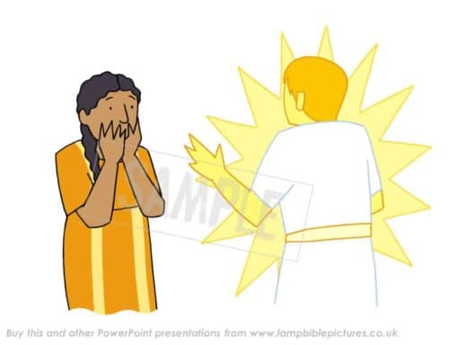 Angel Gabriel comes to Mary - Annunciation