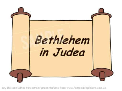 Micah's prophecy - a ruler will be born in Bethlehem