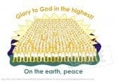The heavenly host - Glory to God in the highest