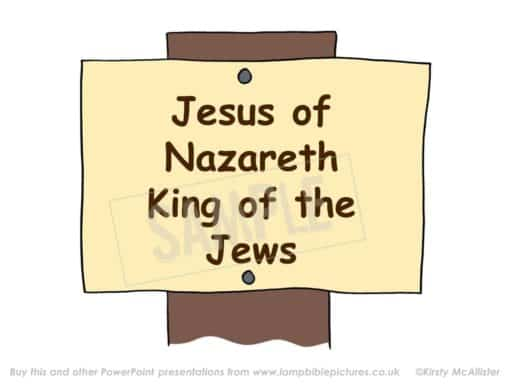 """Jesus the King of the Jews"""