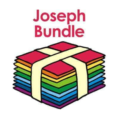 A set of Bible story PowerPoint slides about Joseph