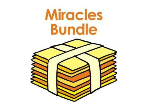 A set of Bible story PowerPoint slides about Jesus' miracles