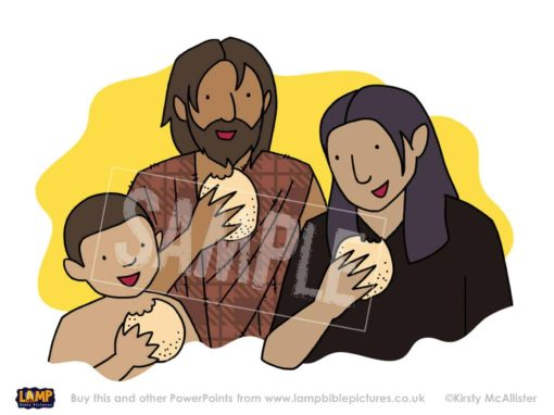 Elijah, the widow and her son have enough food!