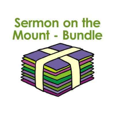 A bundle of Bible story PowerPoint presentations about the Sermon on the Mount