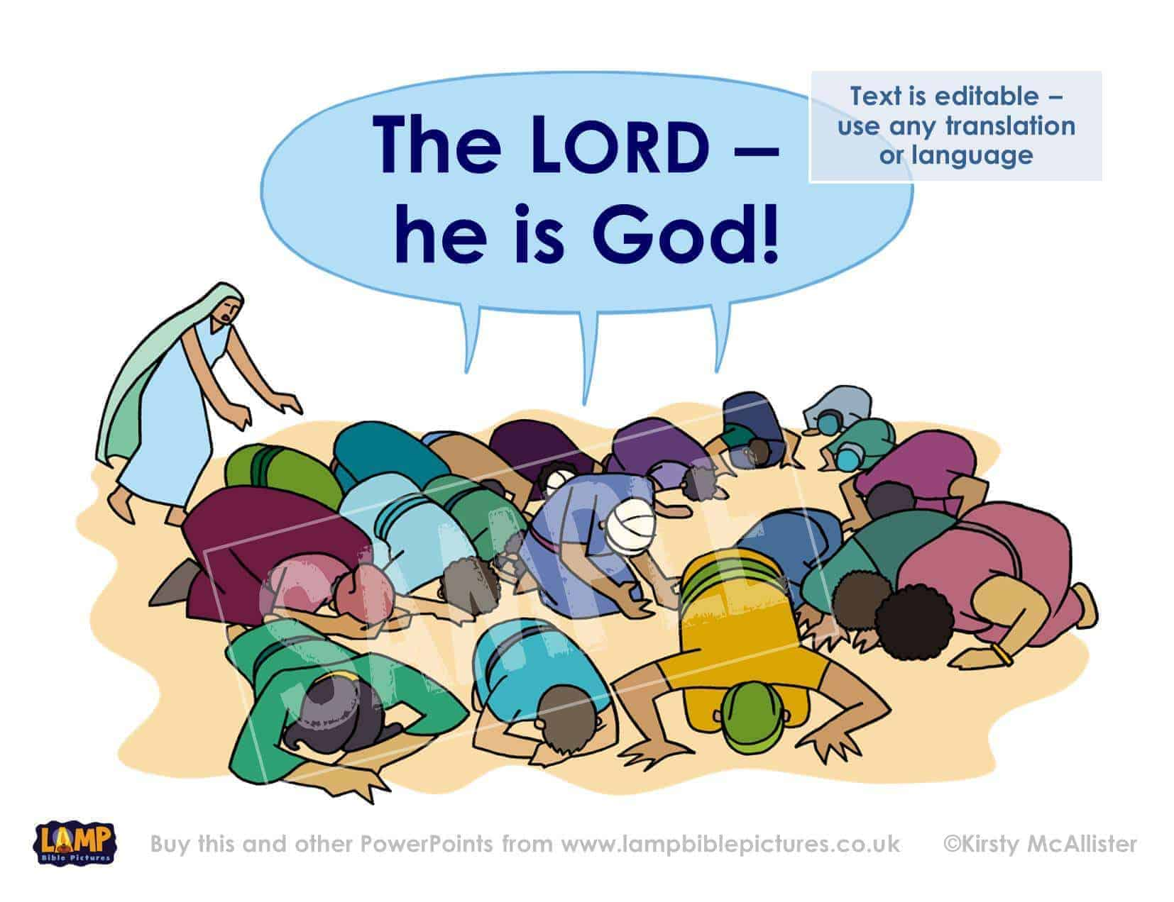he is god almighty The adjective almighty is found many times in the bible and is used only in connection with god almighty god is the awesome creator.