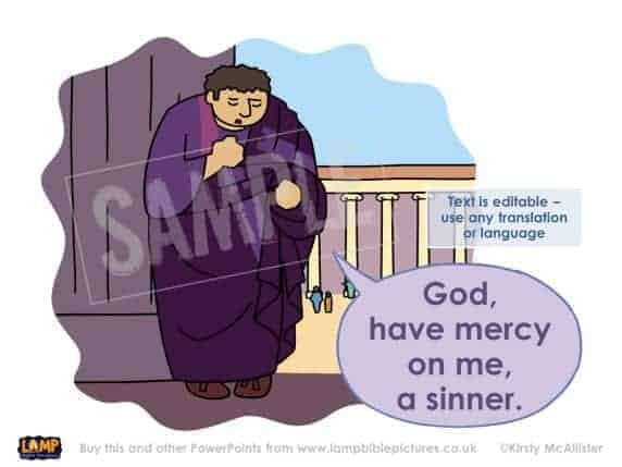 God, have mercy on me a sinner