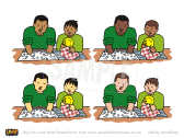 Child-helping-father-washing-dishes-Bible-PowerPoint