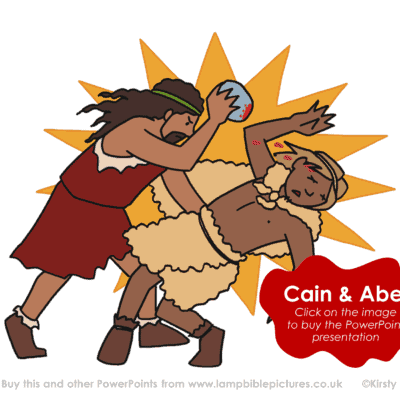 A Bible story PowerPoint presentation about Cain & Abel