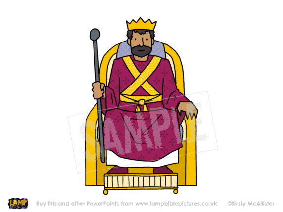 He will reign on David's throne