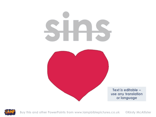 Her many sins have been forgiven – as her great love has shown.